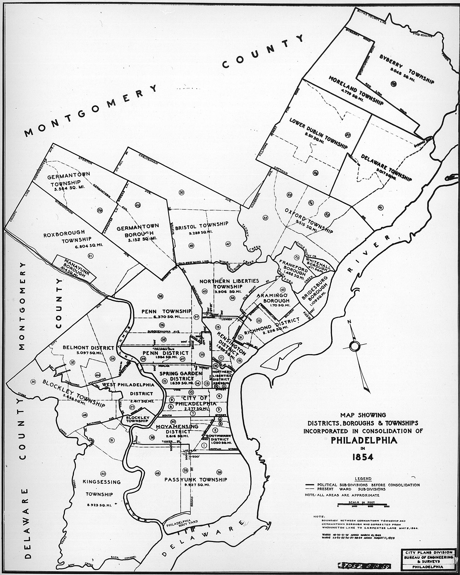 Philadelphia Township Map Philly H2O: Maps