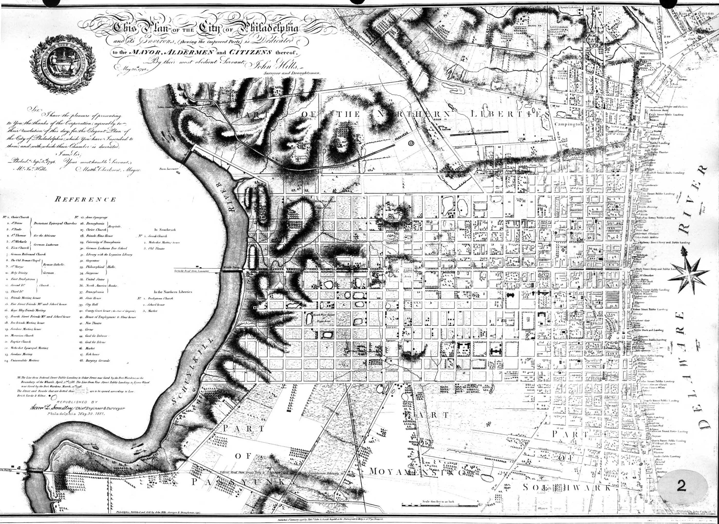 Philly HO Maps Page - Historic philadelphia map