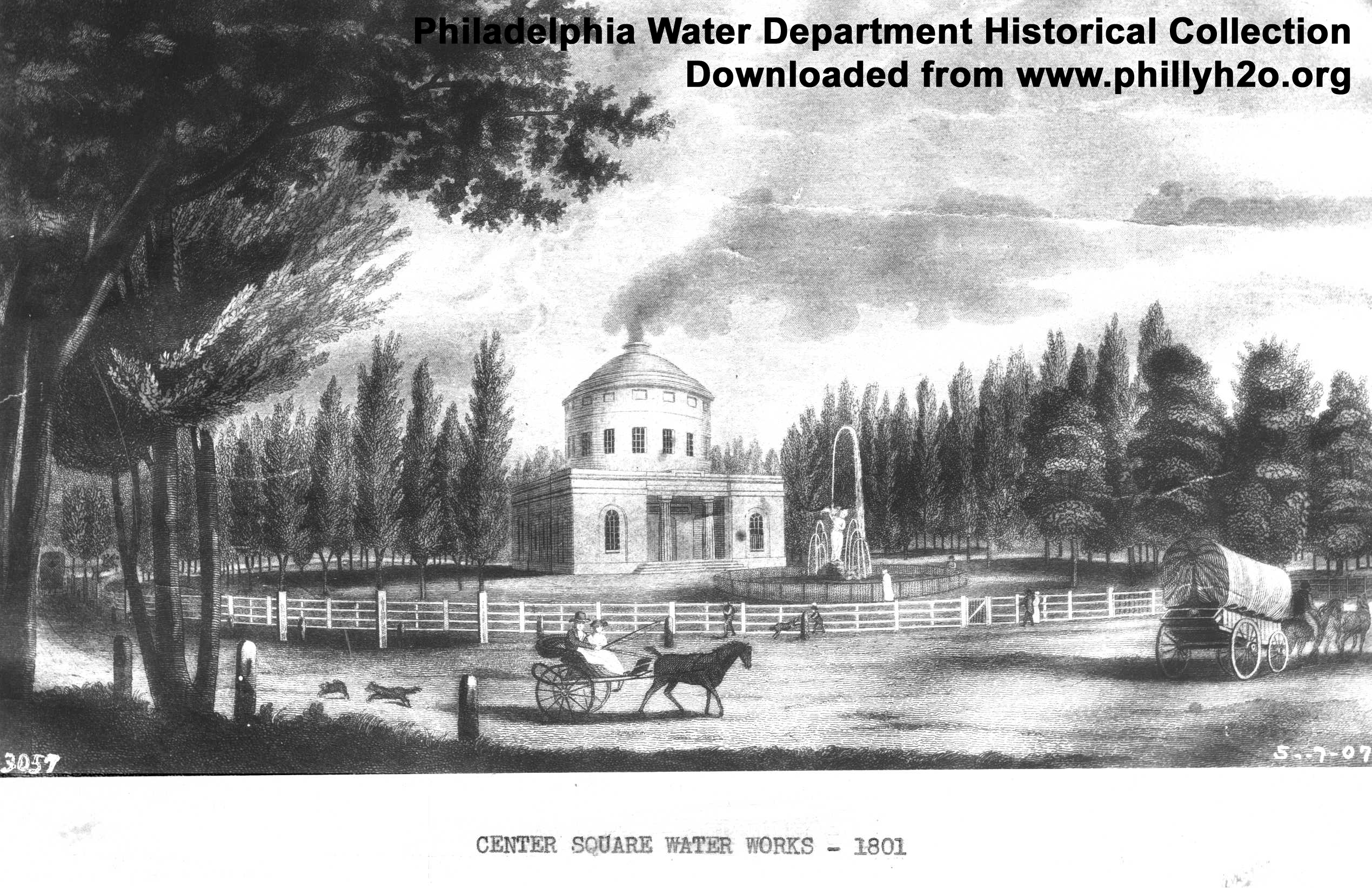 The Water Works of the City of Philadelphia: