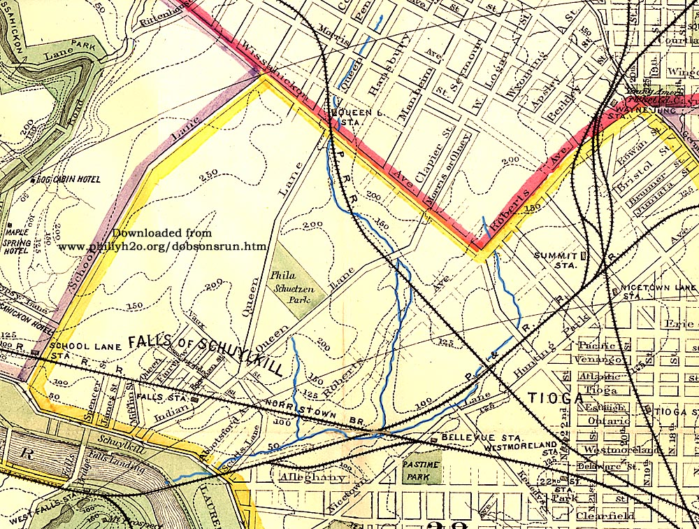 Philly H2O: Dobson\'s Run, A Brief History